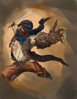 Prince of Persia by geeshin