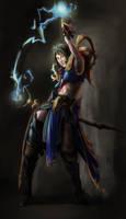 Sorceress or Wizard? by geeshin