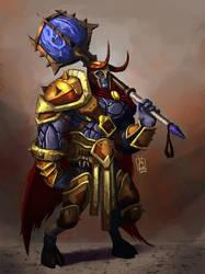 Warrior by geeshin