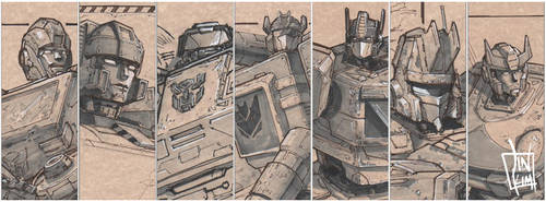 Transformers sketches v.2 by geeshin