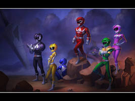 MMPR by geeshin