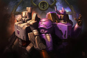 Megatron and Galvatron by geeshin