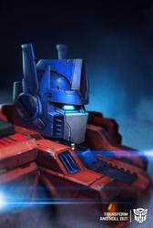 Optimus Prime by geeshin