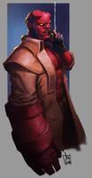 Hellboy by geeshin