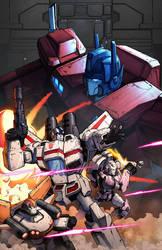 IDW Optimus Prime #6 by geeshin