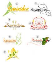 Sawasdee Thai Restaurant Logo by GLASSESGIRL