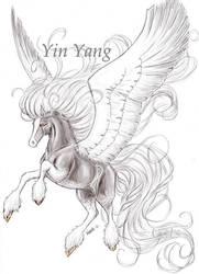 Yin Yang by Cats-m