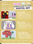 Digital Art Commission Info by Melon-y