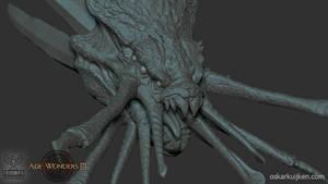 Age of Wonders 3 Eldritch Horror Sculpt by OskarKuijken