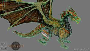 Age of Wonders 3 Golden Dragon Wires by OskarKuijken