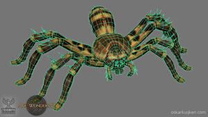 Age of Wonders 3 Hunter Spider Wires by OskarKuijken