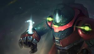 Spaceranger and the Stranger by OskarKuijken
