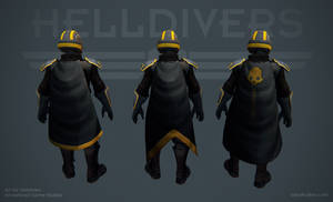Helldivers - Starting Capes by OskarKuijken