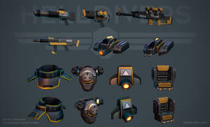 Helldivers - Equipment by OskarKuijken
