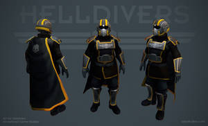 Helldivers - Tactical Armor by OskarKuijken
