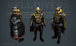 Helldivers - Specialist Armor by OskarKuijken