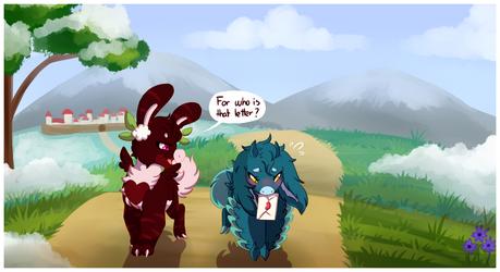 WP #29 [Repeat] - On their Way by RandomComicSheet