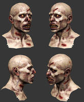Zombie - Polypaint by ivilai