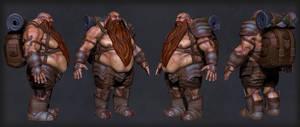 Tough Dwarf Polypaint by ivilai
