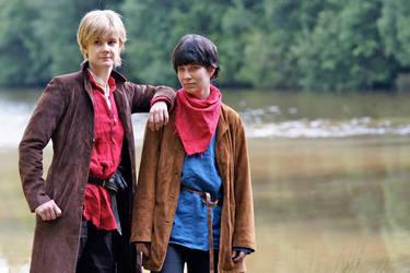 Merlin und Arthur by Skimpel