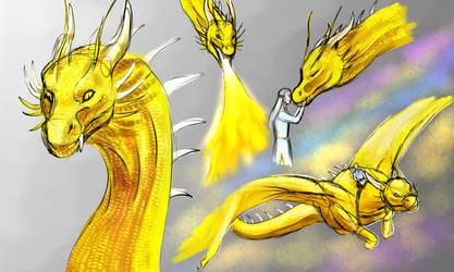 Glaedr Concept by dragonofdivinewind