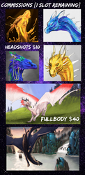 Commission Information [OPEN] by dragonofdivinewind