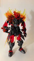 Toa Emberson - Toa of the Phoenix Flame by Loki-Emberson