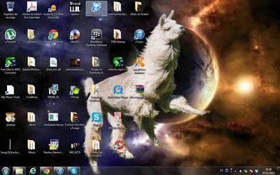 Desktop Screenshot VI by yruxullust