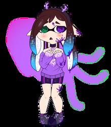 Chiqui version Inkling ::Splatoon:: by MaryUs3908