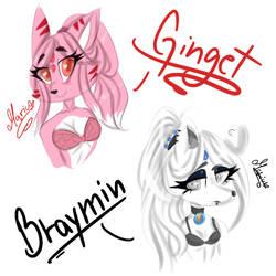 Ginget y Braymin (mas practica) by MaryUs3908