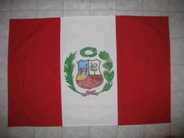 Peru Flag by aisemicr