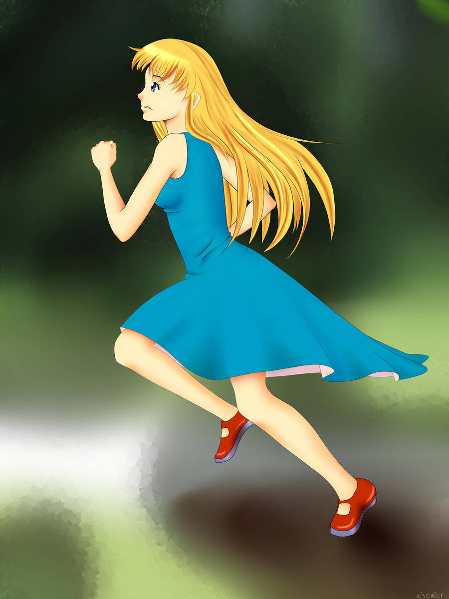 Running Girl by aisemicr