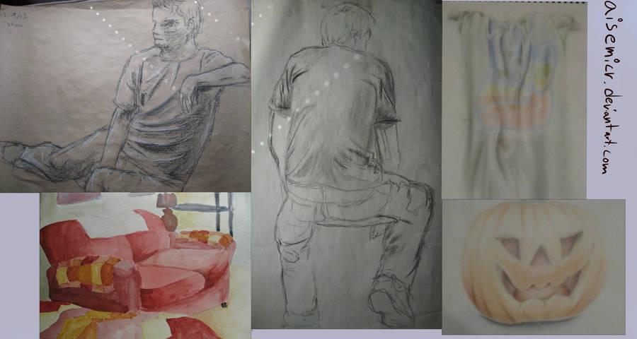 Art Class Dump by aisemicr