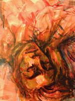 Acrylic Sleeper by Ospreyghost13