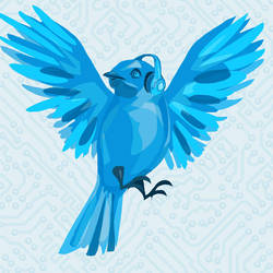 Bluebird by Ospreyghost13
