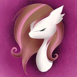 My Pony OC's portait 2 by Vanelia27