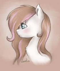 My Pony OC's portait 1 by Vanelia27