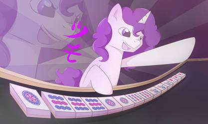 Ponies and Mahjong by Vanelia27