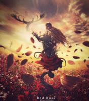 Red Rose by Mustafa9119