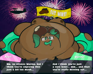 Splatfest - Fat vs Muscle (Results) by AlphaShitlord