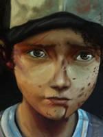 Clementine. Walking Dead Game. by iaterocks