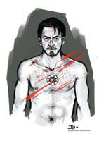 -Tony Stark- by obsceneblue