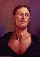 -Fassbender 2.0- by obsceneblue