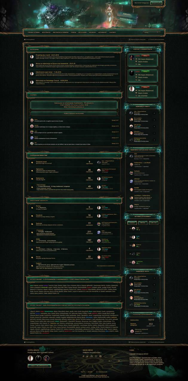 Amsaya.eu - Board RPG Game Design by FanBarcelony