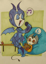 jigglypuff effect by SailorMango