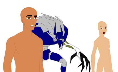 Rex Biowulf and Circe base by Gamer4e36