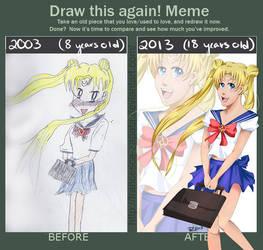 Draw This Again! Sailor Moon by Francesca-Zapata