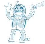 Mad doctor Pokey by SamuraiJo1