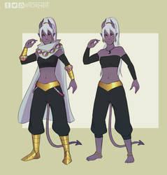 DnD - Vesna Character Sheet by Torheit-Skadi