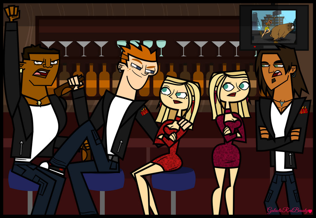 Total Drama The Rvb With The Twins By Galactic Red